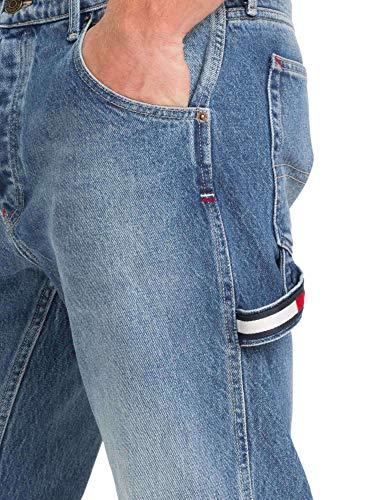Tommy Homme Dm0dm05801 Bleu Jeans Tapared Carpenter HrHWR1z