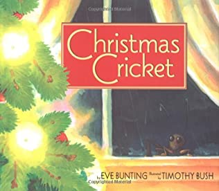 book cover of Christmas Cricket