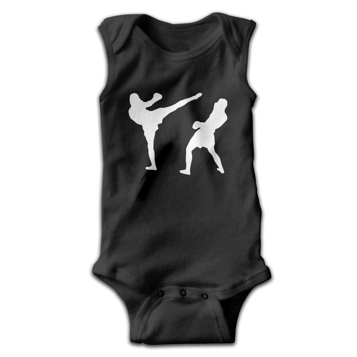 MMSSsJQ6 Brazilian Jiu-Jitsu Baby Newborn Infant Creeper Sleeveless Romper Jumpsuit