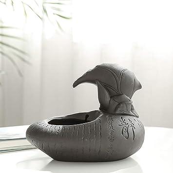 CWYSJ Fuente para Mascotas con Agua Corriente, dispensador de cerámica para el Agua para Mascotas, Fuente de Agua Potable para Gatos y Perros: Amazon.es: ...