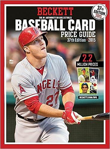 Beckett Baseball Card Price Guide James Iii Dr Beckett
