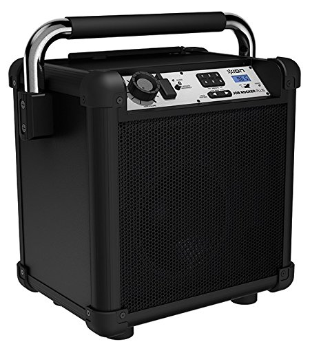- Ion Audio Job Rocker Plus (Black) ION Audio Job Rocker Plus | Portable Heavy-Duty Jobsite Bluetooth Speaker System with AM/FM Radio + Mic Input (Black)