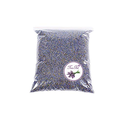 TooGet Fragrant Lavender Buds Organic Dried Flowers Wholesale, Ultra Blue Grade – 1/2 Pound