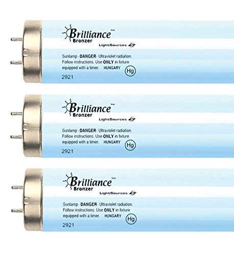 Brilliance Bronzer FR71 100W-120W 5.0% Bi-pin Reflector Tanning Lamp (16) Tanning Bed Reflector Lamps