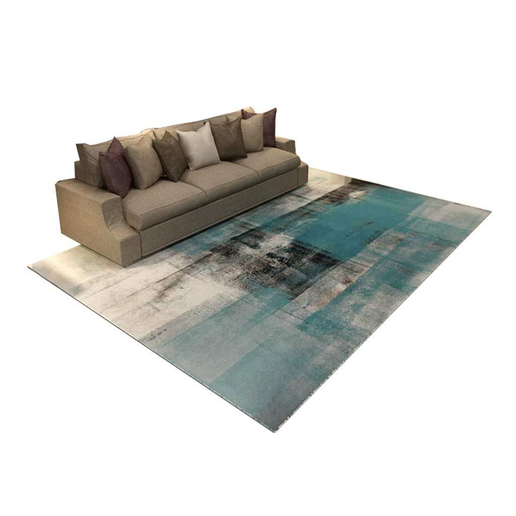 デザイナーカーペット北欧スタイルのコーヒーテーブルソファ敷物パーソナリティ用リビングルームとベッドルームベッドサイドカーペット9色と5サイズサイズ:120×160 cm (色 : #2, サイズ さいず : 200×300cm) B07PSNW4FB #2 200×300cm