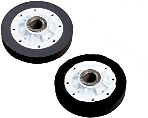(2 Pack) 37001042 Dryer Drum Roller for Maytag, Speed Queen, Amana, Crosley and more Replaces WP37001042, PS11741913, AP6008773