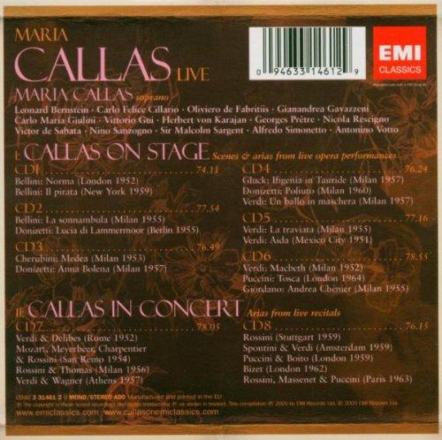 Callas Live by EMI Classics