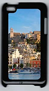 Ibiza Eivissa Spain Polycarbonate Hard Case Cover for iPod 4 ¨CBlack