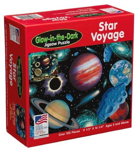 Star Voyage Jigsaw Puzzle 100pc by Great American Puzzle Factory