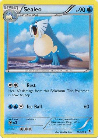 Pokemon - Sealeo (25) - XY Flashfire
