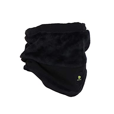 272f46a44c0 Anyoo Sportswear Polar Fleece Neck Gaiter Snood Scarf Hat Windproof Mask  Cold Weather Gear Winter Face