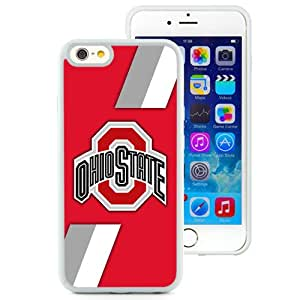 Hot Sale iPhone 6 Cover Case Big Ten Conference Football Ohio State Buckeyes 6 Protective Cell Phone Hardshell Cover Case For iPhone 6 4.7 Inch TPU White Unique And Durable Designed Phone Case