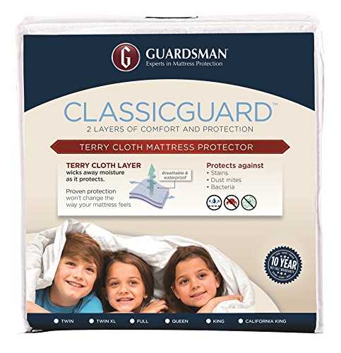Guardsman ClassicGuard Waterproof Mattress Protector - Queen