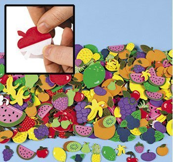 fruit and vegetable stickers - 3