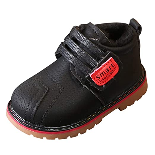 3a65c9d4180f Baby Toddler Girls Boys Fall Winter Warm Shoes Martin Snow Boots 1-3 Years  Old