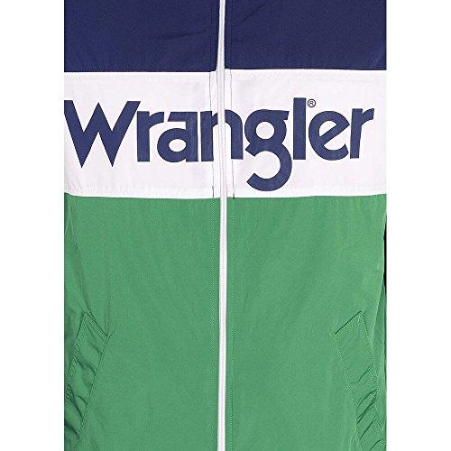 W4707v9jy Green W4707v9jy Giubbotto Wrangler Wrangler Green Giubbotto qC87O08w