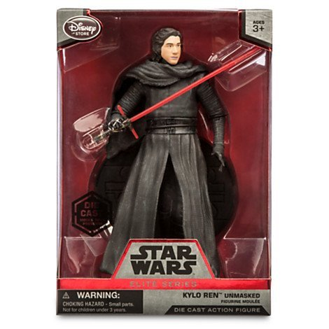 Star Wars 6 Elite Series Die-Cast Figure Kylo Ren Unmasked (Episode VII: A Force Awakens)