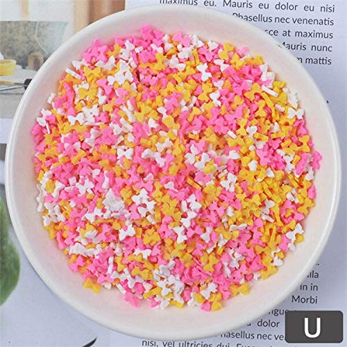 Slime charms 20g Fake Sprinkles Charms for Fluffy Slime Addition for Slime Supplies Plasticine Putty Toys Accessories 11