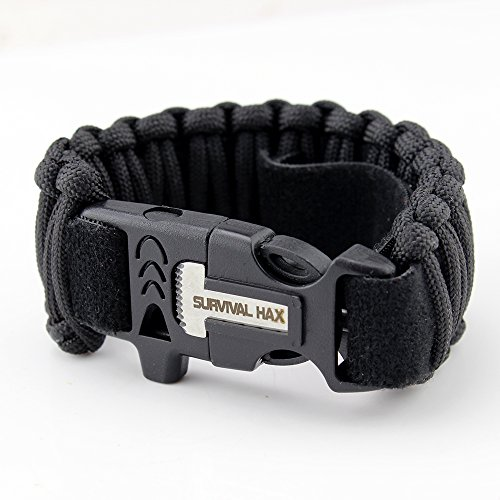 survival-paracord-bracelet-with-fire-starter-whistle-knife-and-105-feet-of-paracord-adjustable