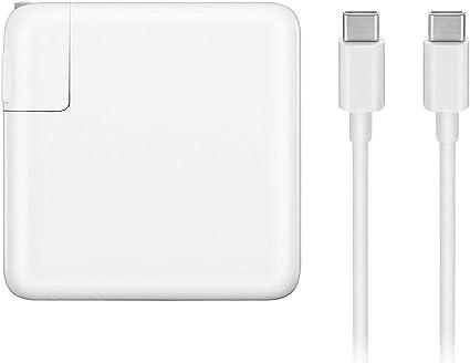 Amazon.com: USB-C - Cargador adaptador de corriente 87W con ...