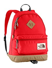 The North Face Mini Berkeley Backpack - fiery red/asphalt gray, one size
