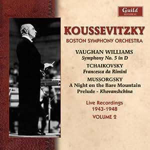 Koussevitzky Conducts the Boston Symphony