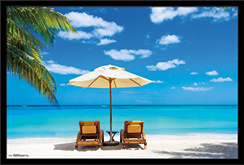 Trends International Wall Poster Tropical Retreat, 22.375 x 34 (Tropical Retreat)