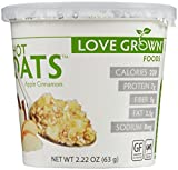 Love Grown Foods Hot Oats - Apple Cinnamon - 2.22 oz - 8 Pack