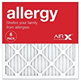 AIRx ALLERGY 20x20x1 MERV 11 Pleated Air Filter - Made in the USA...