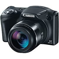 CANON 1068C001 20.0-Megapixel PowerShot SX420 IS Digital Camera (Black)