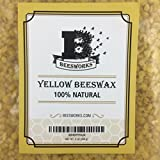 Your Natural Planet (Now Beesworks) BEESWAX PELLETS, YELLOW 2LB- Must Have Item for DO IT YOURSELF Projects, Including Lotions, Salves, Body Butters, Deodorant, Lip Balm, Candle Making and Furniture Polish