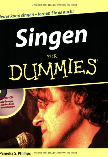 Singen für Dummies (German Edition)