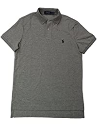 Polo Ralph Lauren Men's Medium Fit Interlock Polo Shirt-Liquid Blue