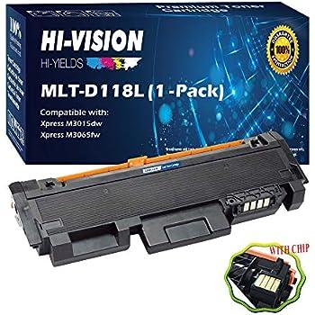 4 Pack MLT-D118L D118L 118L Toner Cartridge Replacement for Samsung Xpress M3015