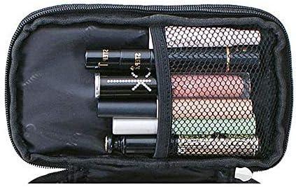 女性のためのナイロントラベルバッグダブルレイヤーポータブルストレージバッグ化粧バッグ YZUEYT