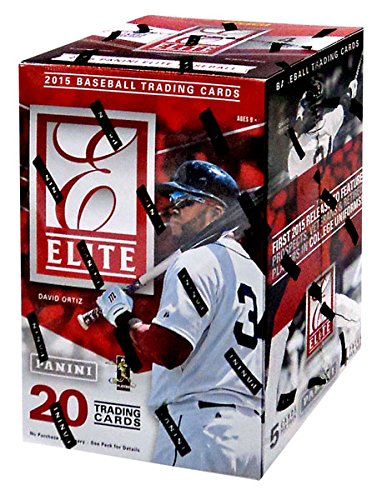 2015 Elite Baseball Series Unopened Blaster Box with One Guaranteed Autograph or Memorabilia Card Per (Unopened Box Baseball)