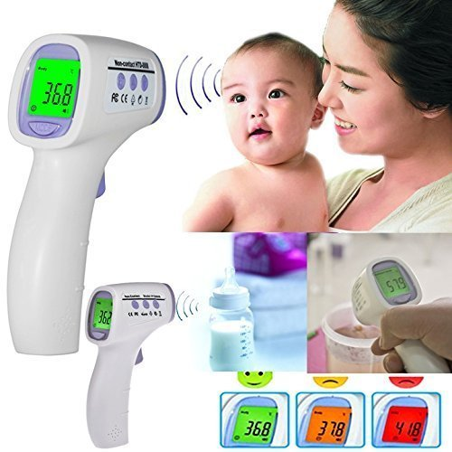 Electronic Thermometer Muti-fuction Baby Digital Termometer Termometro Adult Body Forehead Infrared Thermometer by Generic