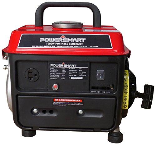 Smart Home Generator : Powersmart ps w stroke manual start portable