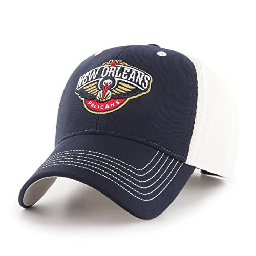 NBA New Orleans Pelicans Sling OTS All-Star Adjustable Hat, Navy, One Size