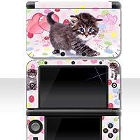 """Nintendo 3DS XL Skin """" KATZENBABY """" Aufkleber Sticker Folie Schutzfolie"""