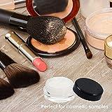 Houseables 3 Gram Jar, 3 ML Jar, BPA Free, Cosmetic