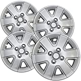 15 inch ford van hubcaps - Hub-Caps for Select Ford Focus (Pack of 4) 15 Inch Silver Wheel Covers