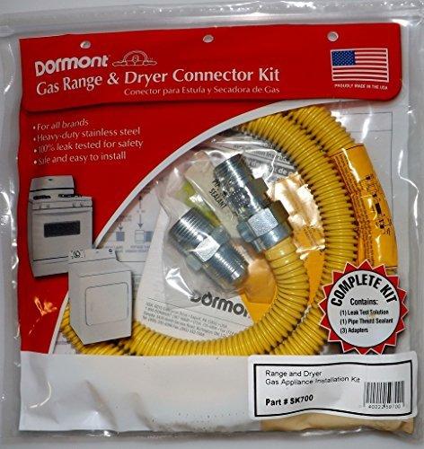 dryer and range gas kits - 8