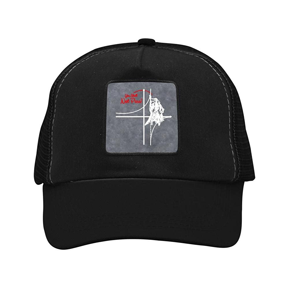 Mesh Cap Hat for Men Women Unisex,Print You Shall Not Pass