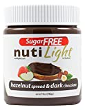 Nutilight – Sugar Free – Hazelnut Spread & Dark Chocolate – 11 oz Jar