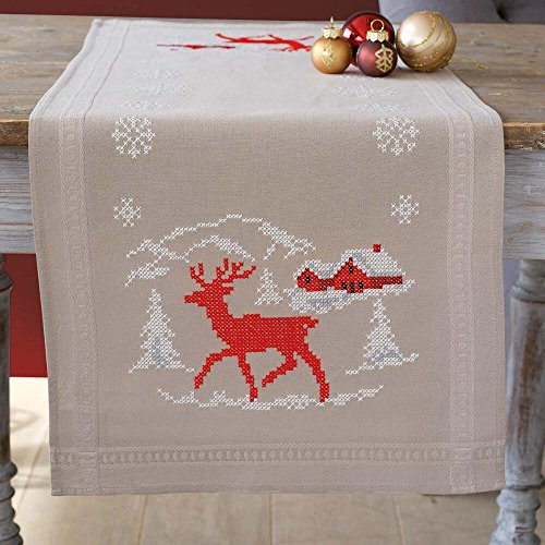 Vervaco Norwegian Winter Table Runner