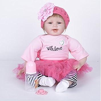 Amazon.es: O-YLS realistas 55cm Reborn Muñecas bebé Antonio ...