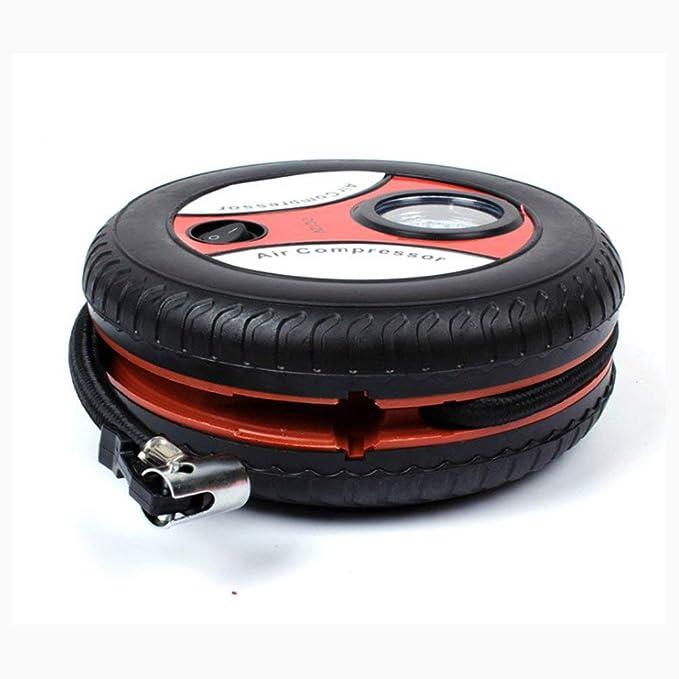 TAOHOU Car Mini Inflatable Pump DC12V Air Compressor Pump with 3 ...