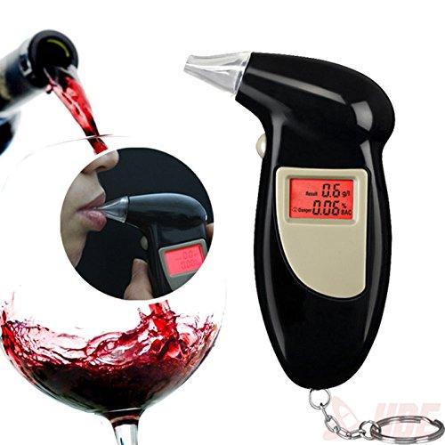 Digital LCD Alcohol Breath Analyzer Breathalyzer Tester D...