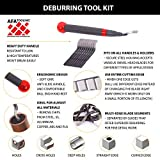 Deburring Tool for Metal, Pipe Reamer and 10 Blades